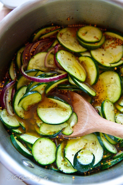 Amazing Zucchini Pickle Recipe Not Quite Nigella