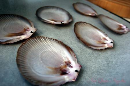Happy New Year! Nigella Express Scallops-on-the-shell