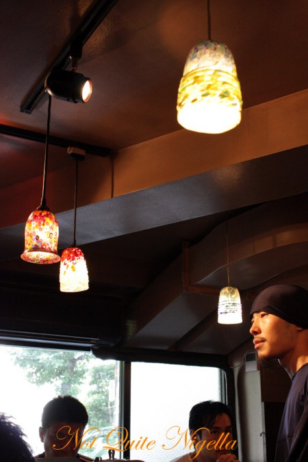 MENYA MUSASHI ramen Aoyama Restaurant review @ Not Quite Nigella