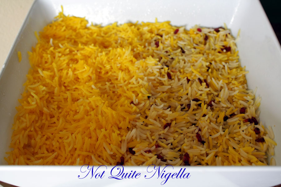 Saffron Rice Persian Recipe Persian Saffron Rice