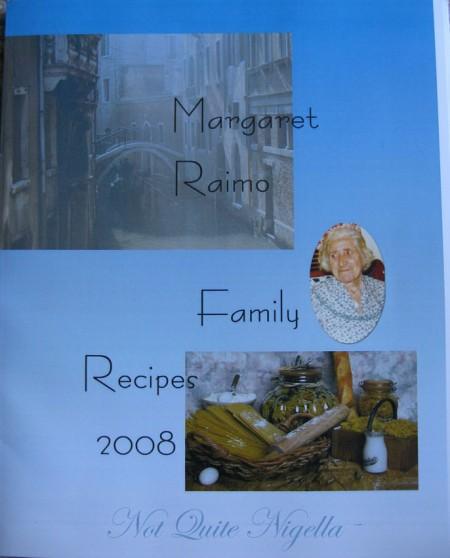 Depression recipes from grandma
