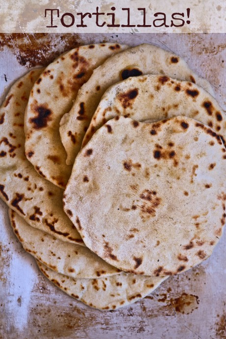 flour tortillas